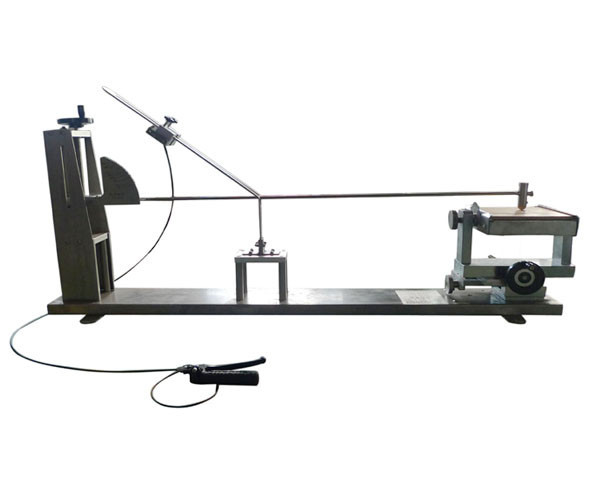 IEC0884-1 Fig 22-26 Low Energy Vertical Pendulum Hammer Impact Tester For Mechanical Strength Test